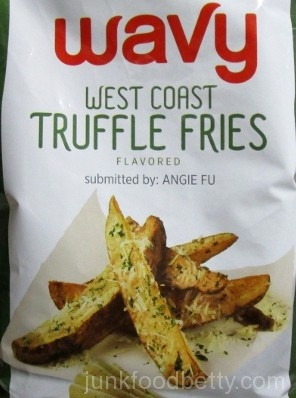 Lay's Do Us a Flavor Finalist 2015 Wavy West Coast Truffle Fries Picture