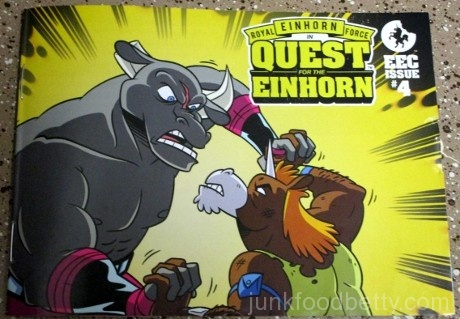 Einhorn's Epic Cookies Quest for the Einhorn Comic Issue #4
