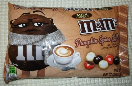 Pumpkin Spice Latte Milk Chocolate M&Ms Package