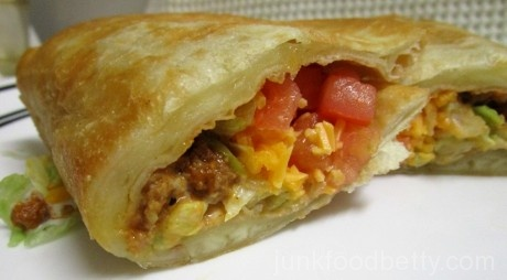 Taco Bell Quesalupa Cheese Stuffed Shell