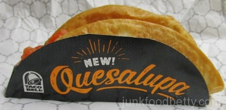 Taco Bell Quesalupa Package