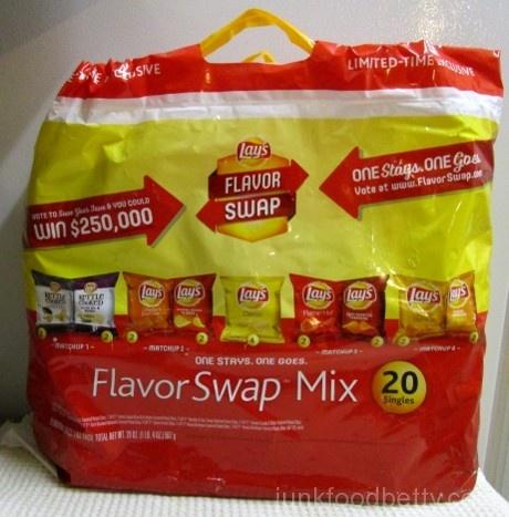 Lay's Flavor Swap Mix Bag