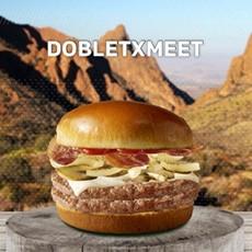 McDonald's Dobletxmeet Burger Promo