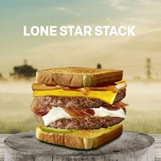 McDonald's Lone Star Stack Burger Promo