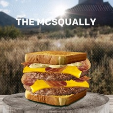 McDonald's The McSqually Burger Promo