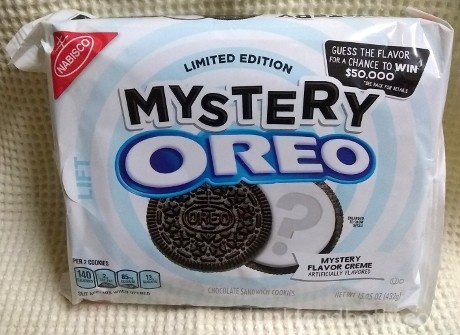 Limited edition mystery oreo cookies junk food betty here we are at peak oreo no double colored creme no dyes that will turn your poop pink just two chocolate cookies and some white filling freerunsca Image collections